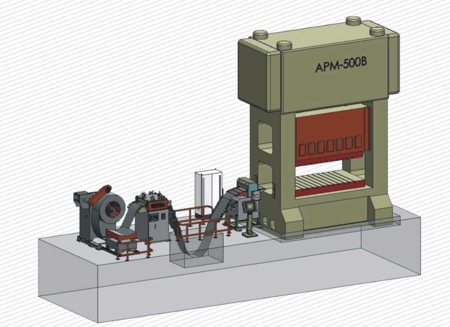 닫힌 문 펀치 기계, 유압 프레스 기계, CE