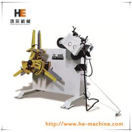 정밀도 2 1 시트 기계 uncoiler 교정기 gl-200b
