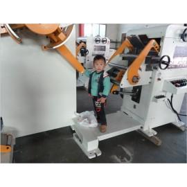자동 라인 블랭킹 decoiling 교정 기계, 모델: gl-400h