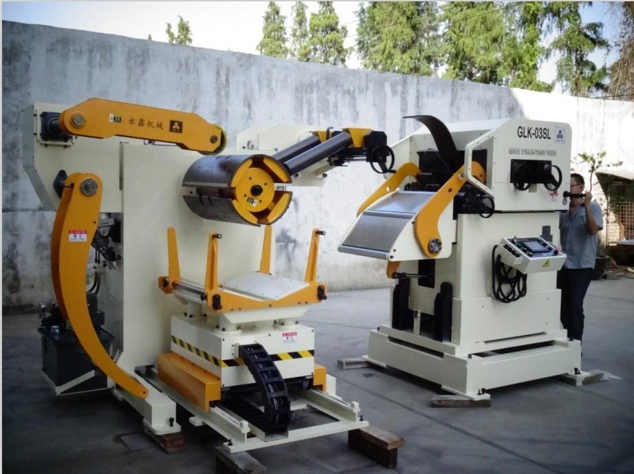 고품질의 뜨거운 판매 저렴한 피더 기계 코일 uncoiler 교정기