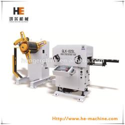 hydrualic 무거운 시트 코일 uncoiler 3 1 glk-02sl