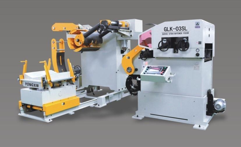 ホットな最新2014年+straightener+decoilerフィーダー、 モデル: glk3