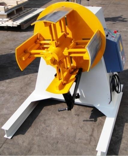 鋼コイルrecoilerがとdecoiler鋼材用インド市場向け