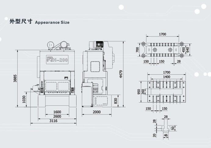 기계 고속& 정확도 버튼 프레스 기계, 모델: RH-25