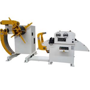 Máquina De Desbobinador De Nivelador 2 Em 1