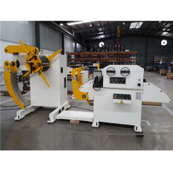 Automático De Aço Da Bobina Nivelamento Máquina Uncoiler