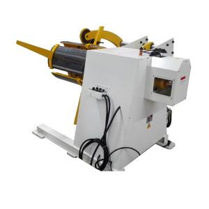 Automático De Linha De Perfuração Para Decoiler Aço-F