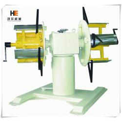 Automatyczny dwubębnowy odwijak maszynowy