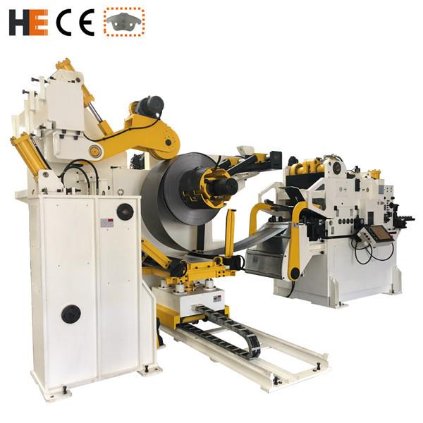 用于高强度材料的GLK-H系列料架整平送料机三合一