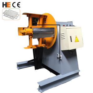 Sheet Metal Decoiler Motorized Type Manual Expansion For Sale