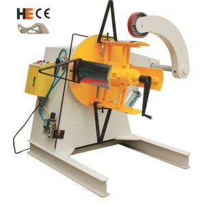 [MT-800] Heavy duty uncoiler machine steel coil reel with optional coil lifter