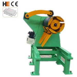 [MT-600F] Sheet Metal Hydraulic Decoiler Machine for Steel Coil Processing