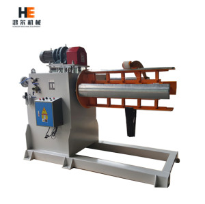[MT-800F] Motorized Decoiler Machine Hydraulic Expansion Coil Cradle Steel Coil Decoiling