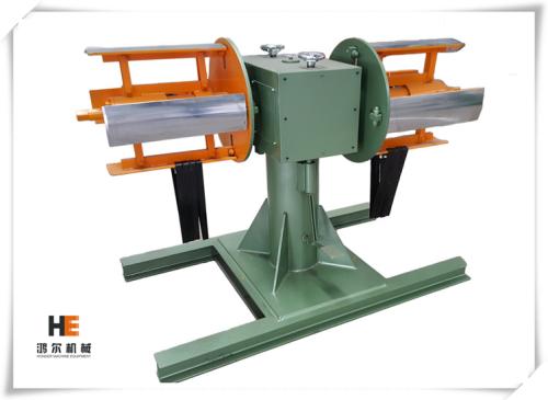 آلة تشكيل برأسين للفائف المعدنية