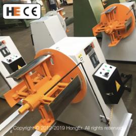 [MT-400] Motorized Decoiler Machine Coil Cradle Steel Sheet Handling Equipment