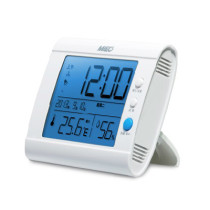 Mieo Thermometer and Hygrometer with Clock