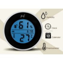 Mieo Panel Mount Thermometer and Hygrometer for Cigar Humidor