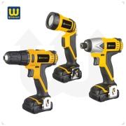 10.8V Li-ion battery 3 pcs cordless tool kit WT03001