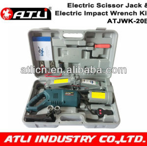 Electric hydraulic car jack DC12 volt electric car jack &impact wrench kits factory price