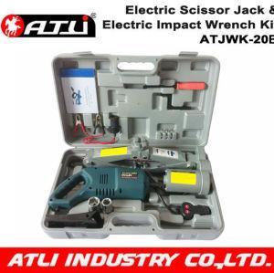 DC 12V Electric car jack& Impact wrench car repair tool kit