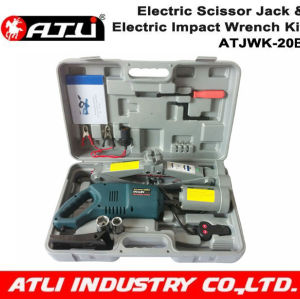 DC 12V 2T electric jack &impact wrench kit