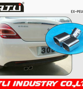 Good quality & Low price Auto Spare Parts Exhause for PEUGEOT 308 Exhause
