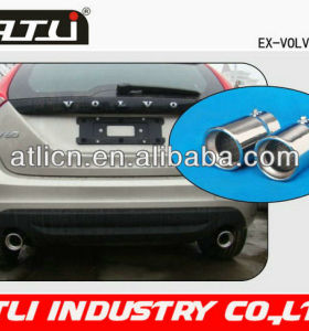 New style auto exhaust muffler tail pipe SS304 material for VOLVO V60 Exhause