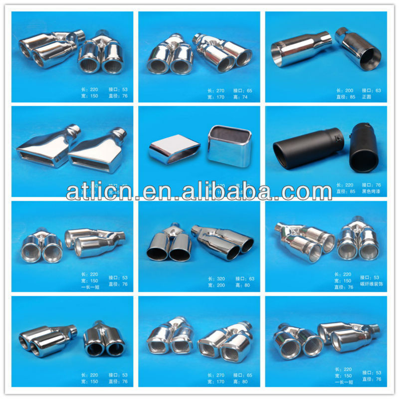 Top seller new style alibaba china round exhaust pipe