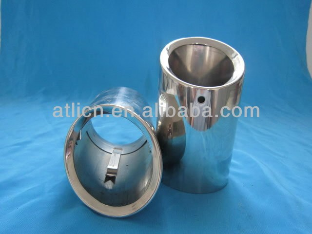 Hot sale popular spiral welded steel exhaust pipe