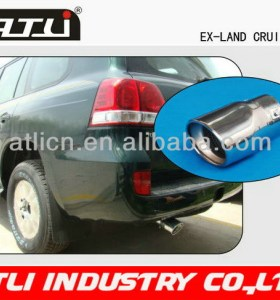 2014 new popular car exhaust pipe curved stack