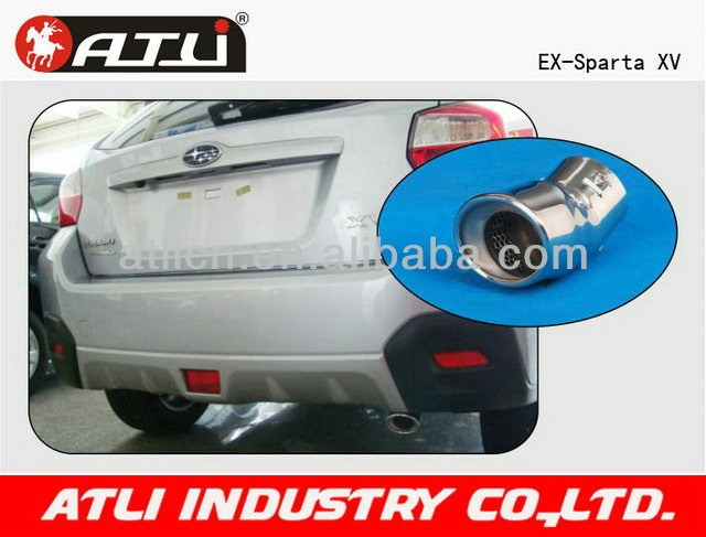 Best-selling qualified china steel exhaust pipe producer