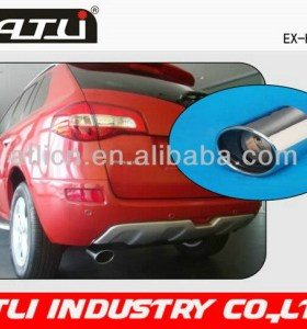 High quality new model car exhaust pipe