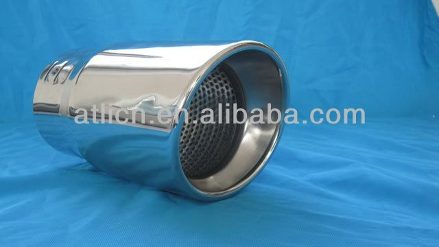2014 new model cnc exhaust muffler