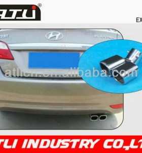 Adjustable new design flexible pipe exhaust system
