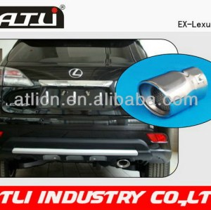Latest fashion polished exhaust tip