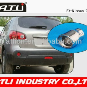2014 useful round exhaust pipe with end caps