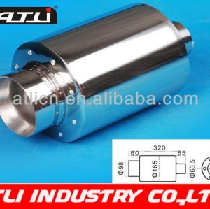High quality newest carbon steel exhaust pipe manufacturer