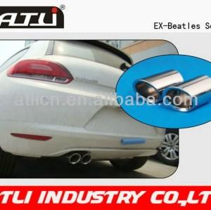 Hot selling high power dual tip exhaust muffler