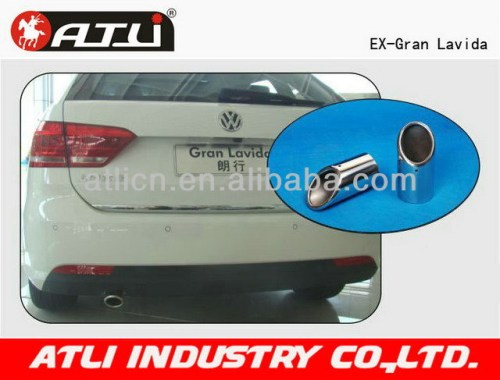 Universal useful black iron exhaust pipe