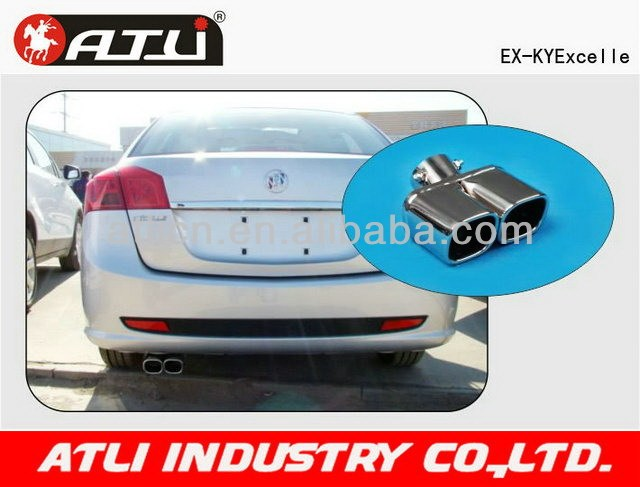 Multifunctional new design oval exhaust pipe