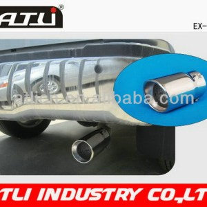 2014 new model cnc exhaust muffler