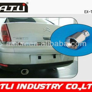 Latest popular steel pipes rectangular exhaust pipe