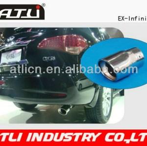 Hot sale high performance go kart exhaust muffler