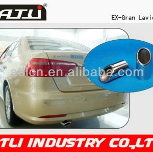 Adjustable qualified stainless steel exhaust tips