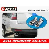 Practical new design automotive exhaust tubing