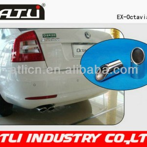 2014 new qualified steel exhaust pipe 80 material
