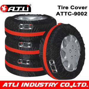 High quality stylish Car tyre cover auto accessories parts 4pcs/set ATTC-9002,snow sock