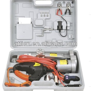 DC 12V car scissor wire control electric jack &electric impact wrench set