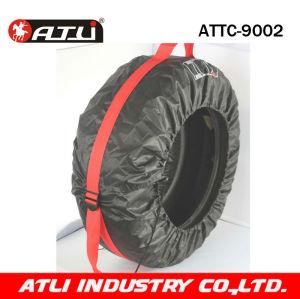 High quality stylish Car tire cover  auto accessories parts 4pcs/set ATTC-9002,snow sock
