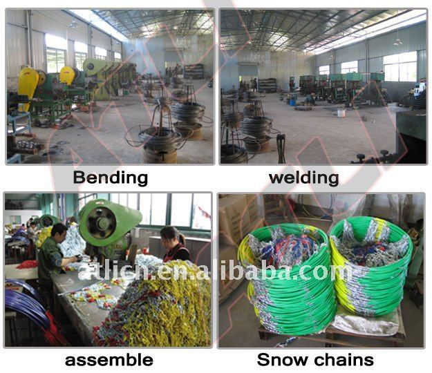 anti-skid chains for passenger car/anti-skid Snow tyre chains for Passenger car